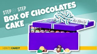How To Make a BOX OF CHOCOLATES CAKE | Step By Step | How To Cake It | Yolanda Gampp