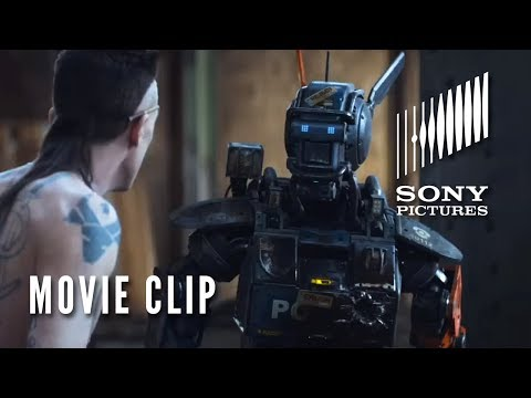 Chappie Movie Clip - real Gangster video