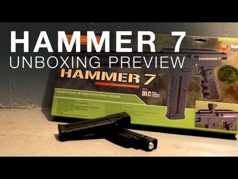 A PUMP-ACTION PAINTBALL MARKER? - Spyder Hammer 7 Unboxing
