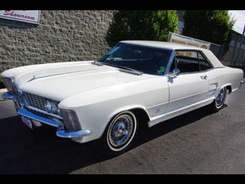 1964 Buick Riviera 425 Nailhead V8 - Low Mileage Original - YouTube