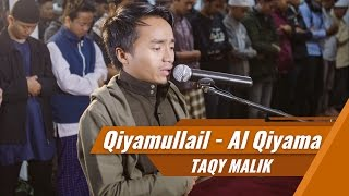 Qiyamullail jamaah menangis - Taqy Malik membacakan surat Al Qiyama
