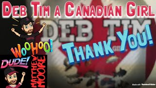 DebTim a Canadian Girl's package!
