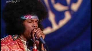 michael winslow as Jimi Hendrix