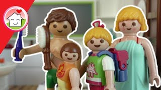 Playmobil Film deutsch - Morgenroutine der Familie Hauser -  Kinderfilm - Family Stories