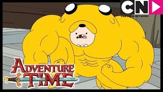Adventure Time | Jake Tries on the Finn Suit | Cartoon Network