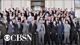 Wisconsin teens appear to do Nazi salute in viral prom picture