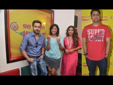 Emraan Hashmi, Vidya Balan And Mohit Suri Promote Hamari Adhuri Kahani At Radio Mirchi