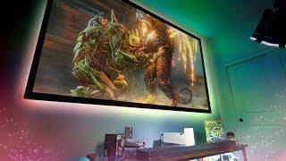 "My 120"" Mega Gaming Setup!"