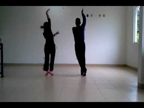 Line Dance - YALLA HABIBI (19-Jan-2013) Arabic Dance Style at...
