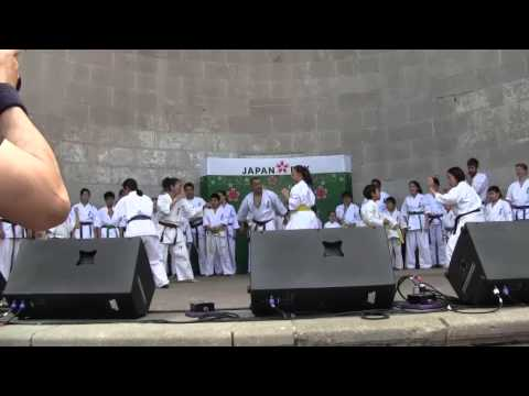 Kyokushin Karate NY demo at Japan Day 2013 (1/2) Image 1