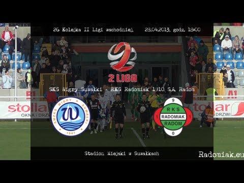 Wigry Suwałki - Radomiak Radom 2:0 Cały Mecz (2 Połowa) [28.04.2013]