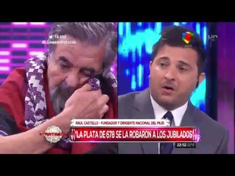 Durísimo cruce entre Diego Brancatelli y Raúl Castells