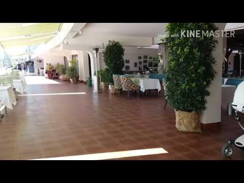 Пляж гостиницы Ялта август 2017