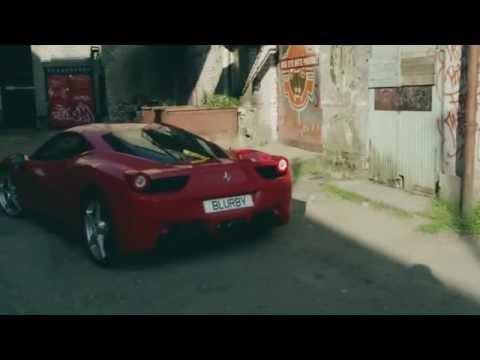 Gorilla in a Ferrari | Blurby