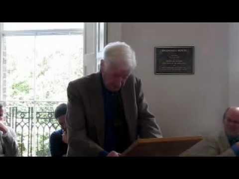'A Resigned President' John Montague
