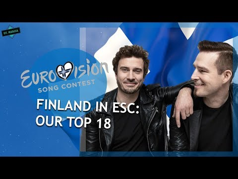 Finland In Eurovision: OUR TOP 18 (2000-2019)