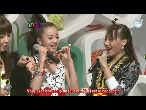 2NE1 - Interview @ Inkigayo (31/05/2009) [French Subs]