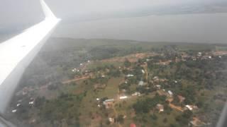 Air Uganda arriving home