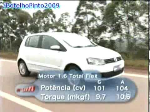 VRUM - Teste do Novo VW Fox 2010 - 17-01-10