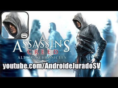 Assassin's Creed: Altaïr's Chronicles Para Android [QVGA] [HVGA] [WVGA]