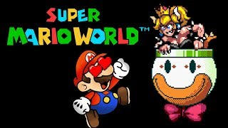 Super Mario World (SNES) - Bowsette Edition A & B Version (Patch by Moltz) - GAMEPLAY