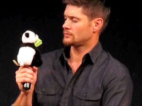 JIB4 Supernatural Con in Rome 2013 - Jensen and Misha Panel PART 5