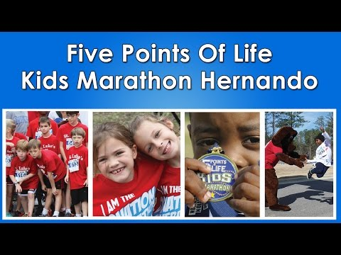 Sign up kids marathon HERNANDO