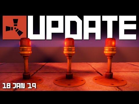 Download Lagu  NEW Siren light, HBHF sensor, RAND switch | RUST update 18th January 2019 Mp3 Free