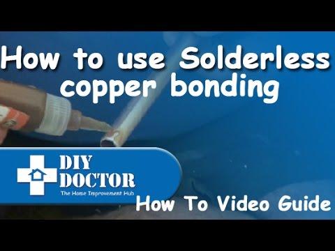 Solderless copper bonding