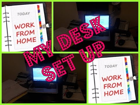 Work From Home | Arise.com |  My In Home Office Desk Set Up