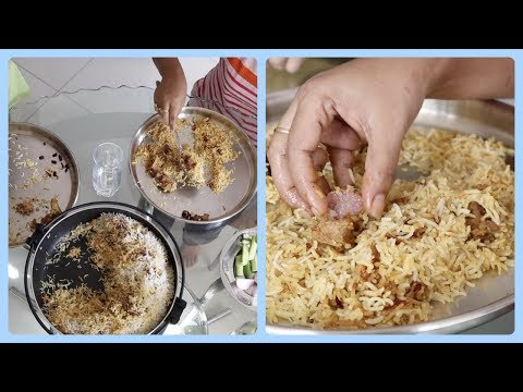 Indian Vlogger Soumali || Sunday Special Lunch Routine -  Mutton Biryani