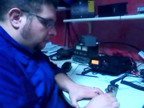 SUPERKEY CW - 2 iw3ids in qso with ur5md - SIDESWIPER