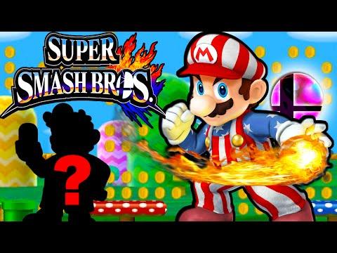 Super Smash Bros 4 3DS: Mario Powers Up! New Character Unlock Gameplay Walkthrough Nintendo PART 14