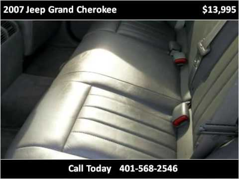 2007 Jeep Grand Cherokee Used Cars Chepachet RI