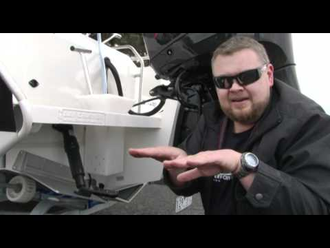 Trim Tab Demo - Bar Crusher Boating Basics - Trim Tab demo