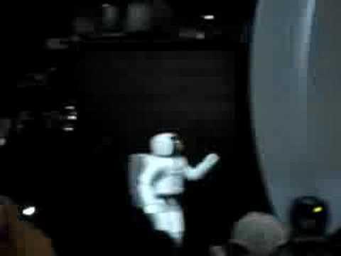 ASIMO - Parte 2 - Salão do Automóvel 2006 - Brasil