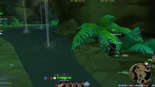 World of Warcraft Vanilla - Multibox - Lvl 22 Wailing Caverns Run Pt 4 Kresh to Faerie Dragon