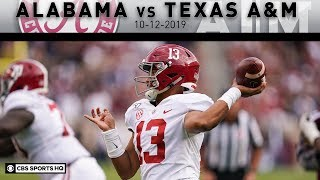 Alabama vs Texas A&M Breakdown: Tagovailoa breaks Alabama career TD record vs Aggies | CBS Sports HQ