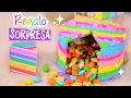 SURPRISE CAKE: The Best DIY Birthday Gift Idea ✄ Craftingeek