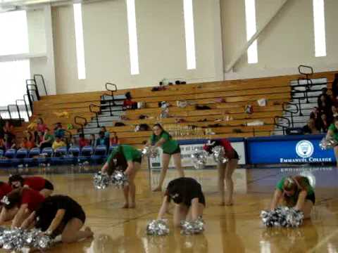Newton Country Day School Varsity dance team Featuring my niece Kelsey Sullivan - 02/20/2011