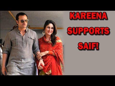 Kareena Kapoors statement on Saif Ali Khans Padma - Shri Award...