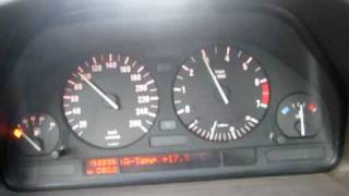 BMW 735iA 1989 0-100km\h Run