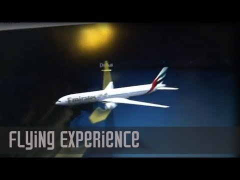 Experience Flying thru Bad Turbulence (Night) | DXB - JFK