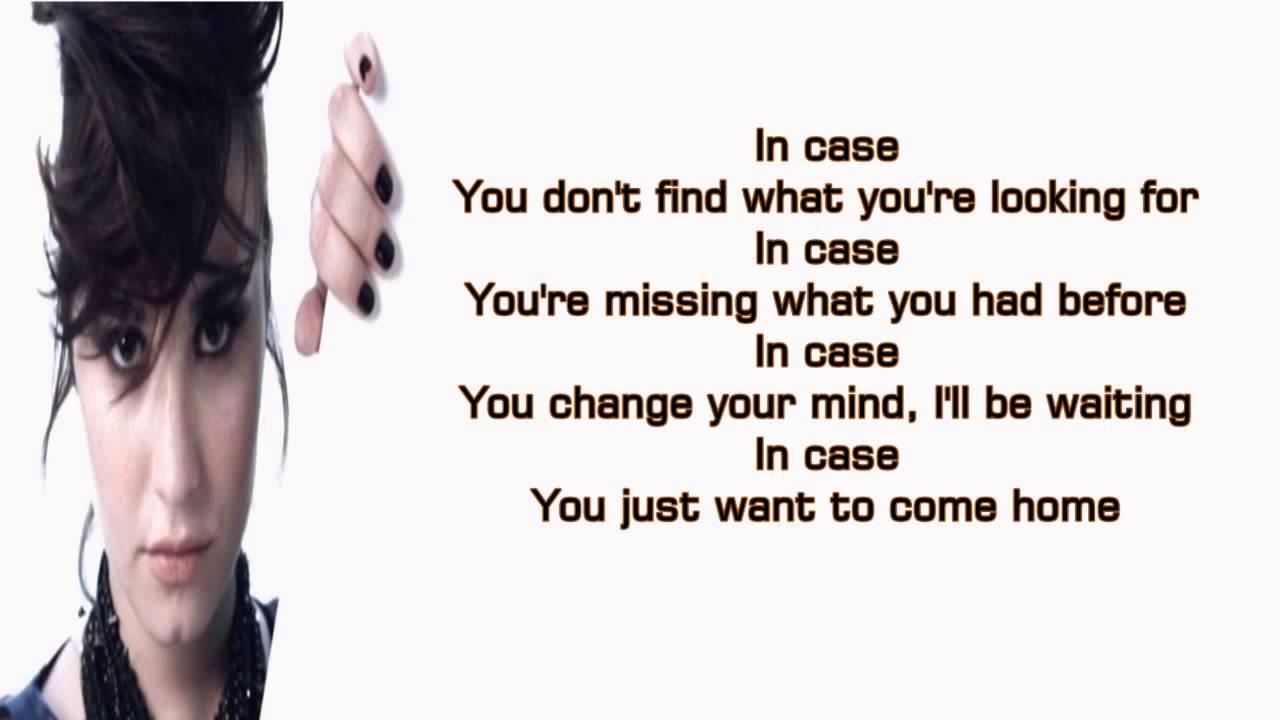 Demi Lovato Case Lyrics Screen Youtube