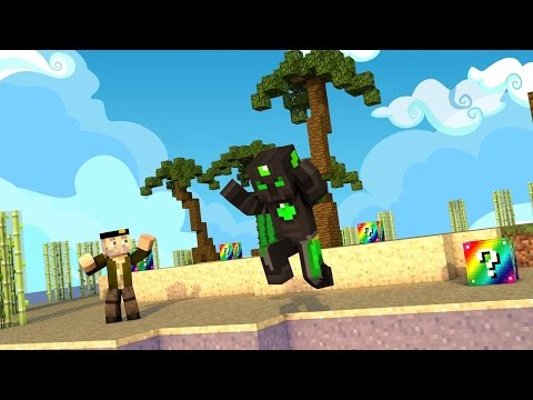 Minecraft: EXPLOSIÓN DE VERANO!! c/ sTaXx RAINBOW Lucky Blocks Epic Race