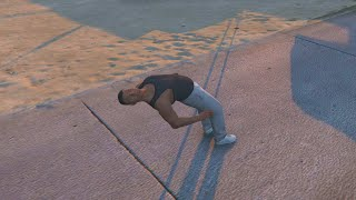 GTA 5 FIVE STAR PARKOUR, PC PARKOUR MOD, PARKOUR STUNTS & FUNNY MOMENTS #5 (Gta 5 Free Running)