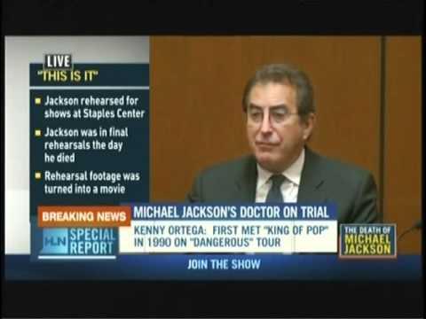 Conrad Murray Trial..Kenny Ortega.. (Part 1)