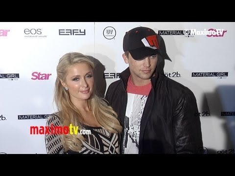 Paris Hilton and Boyfriend River Viiperi STAR Magazine Hollywood Rocks ARRIVALS