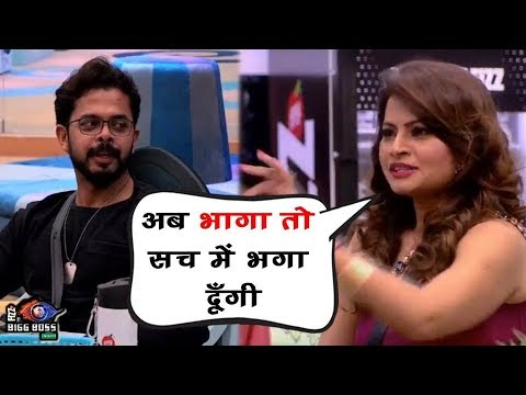 Bigg Boss 12: Megha Dhade Challenged Sreesanth | मेघा ने श्रीसंथ को किया चैलेंज | BB 12