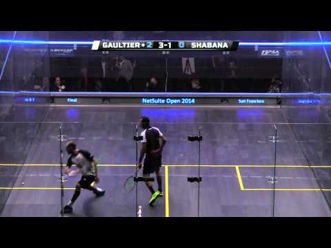 Squash : 2014 Netsuite Open - Final Roundup - Gaultier v Shabana